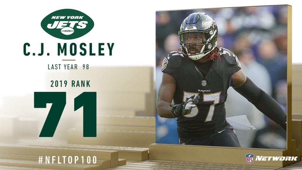 2019年NFLトップ100(71位〜80位)