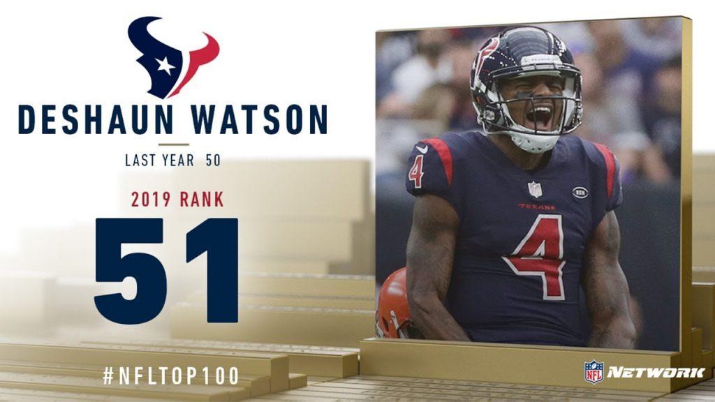 2019年NFLトップ100(51位〜60位)