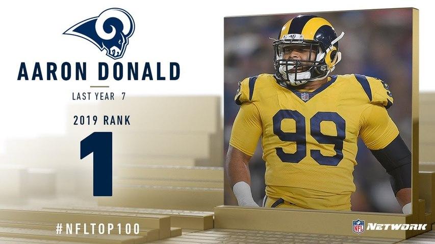 2019年NFLトップ100(1位〜10位)