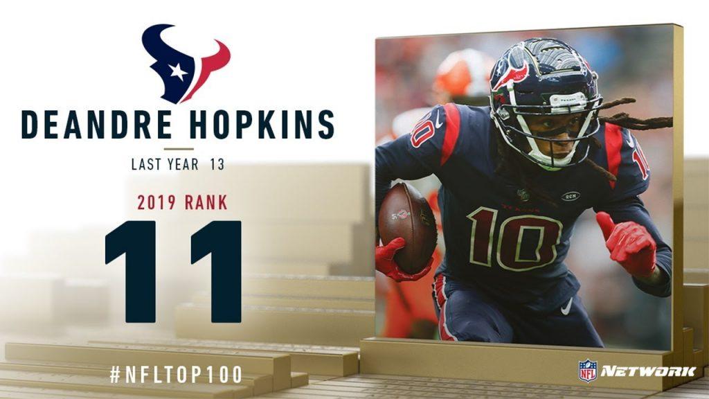 2019年NFLトップ100(11位〜20位)